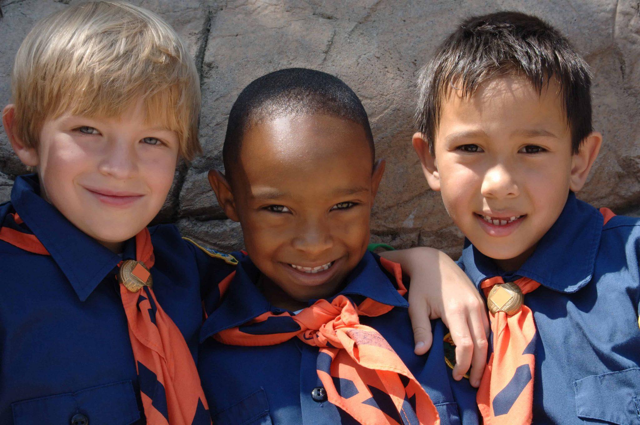 Grupo de Boy Scouts en SJN